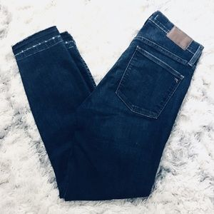 Madewell Skinny Jeans Crop High Waisted 28 4 6